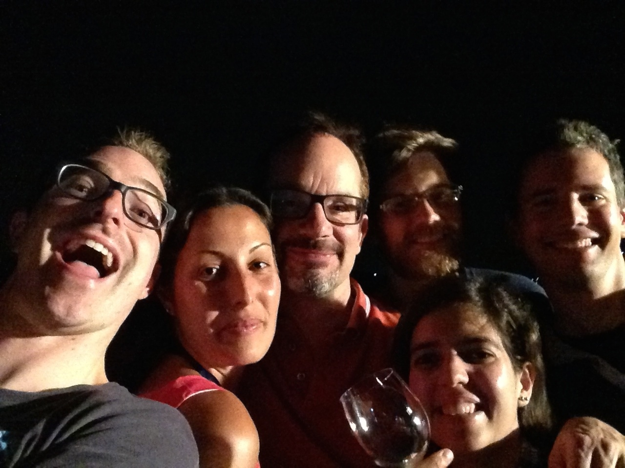 Oliver Wueseke, Julia Mahamid, Tony Hyman, Jeff Woodruff, Beatriz Ferreira Gomes, and Ben Engel
