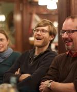 Elisabeth, Jeff, and Tony