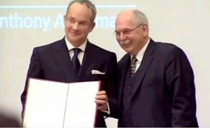 Tony wins the Leibniz Prize