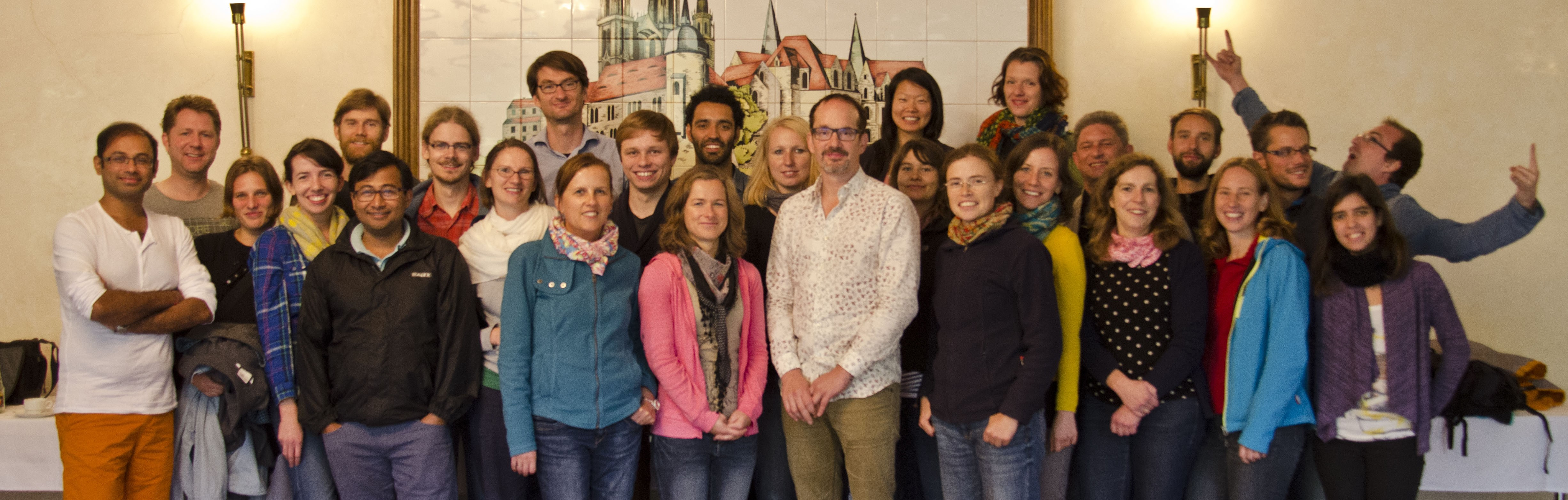 lab retreat to Meissen, 2014