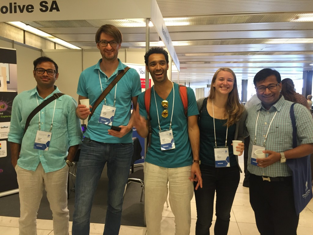 Avinash, Carsten, Andrés, Jana, and Shamba at ICCB
